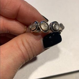 Silpada crystal silver ring